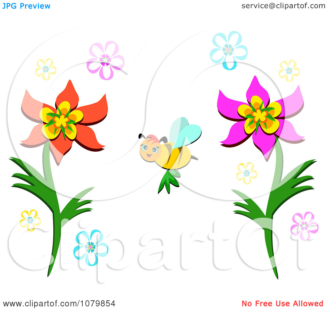 Pollination Clipart.