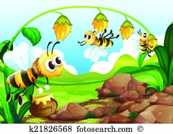 Pollination Clip Art and Illustration. 1,321 pollination clipart.