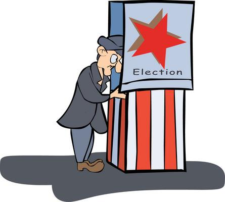 Voting Poll Clipart.