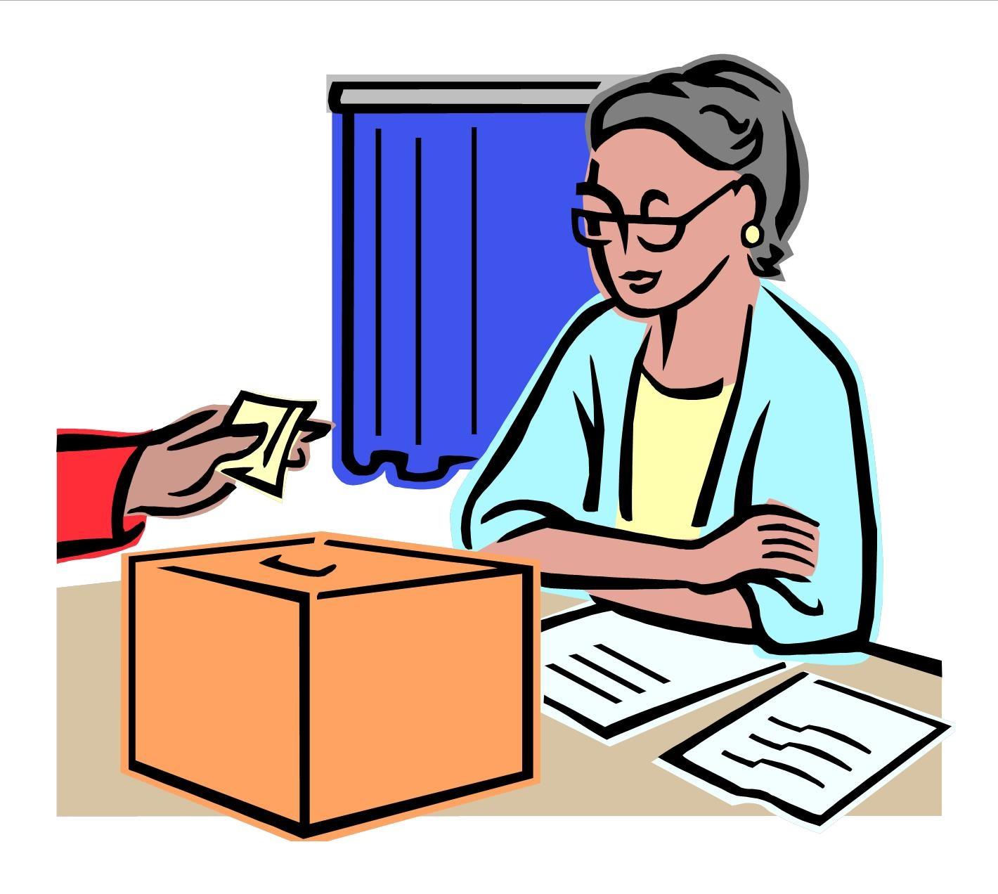 Polling clipart #19