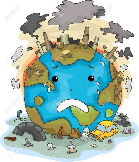 Image result for air pollution clipart.
