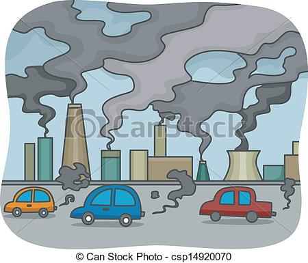 Environment pollution images clipart.