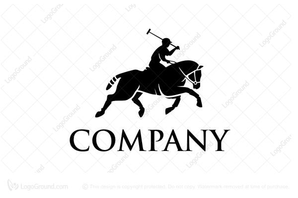 Polo horse Logos.