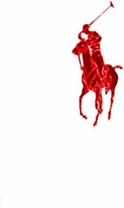 Red polo horse Logos.