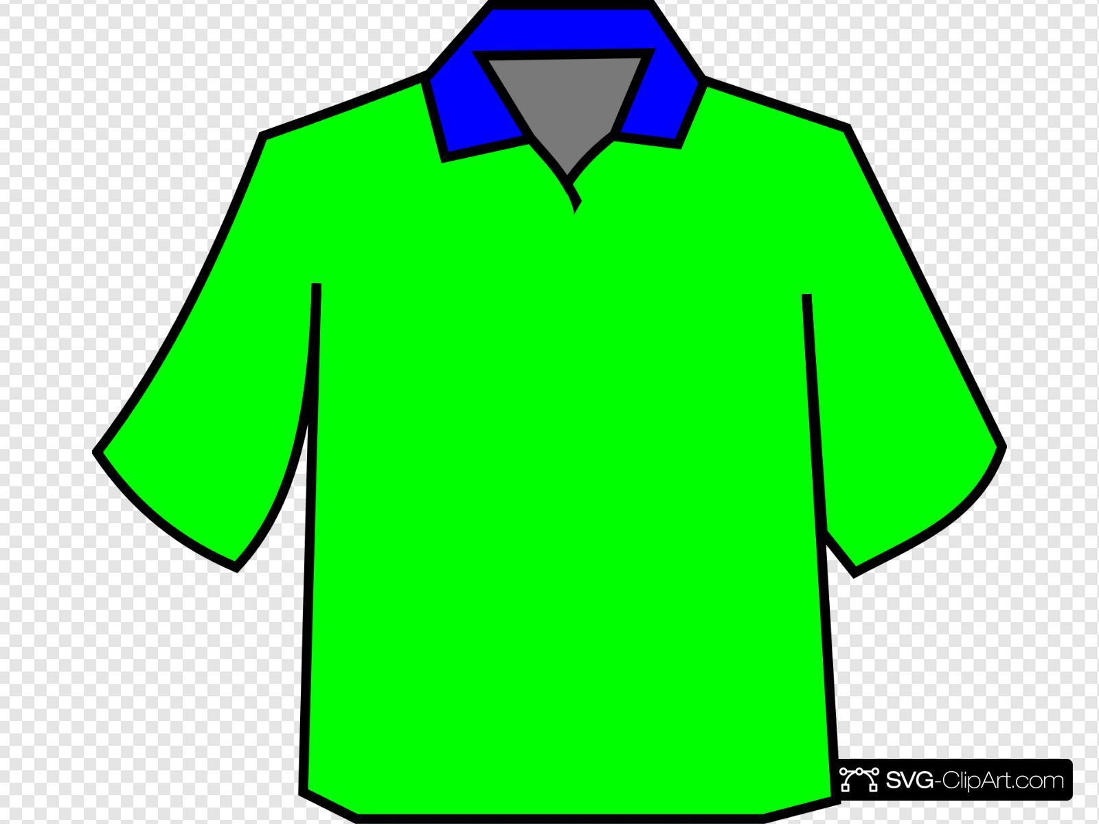 Green Polo Clip art, Icon and SVG.