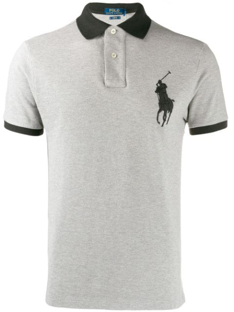 Logo Embroidered Polo Shirt In 57.