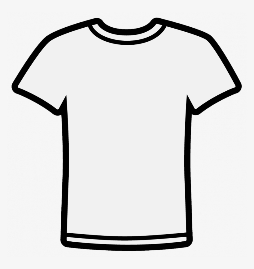 Free Polo Shirt Template Clipart Illustration.