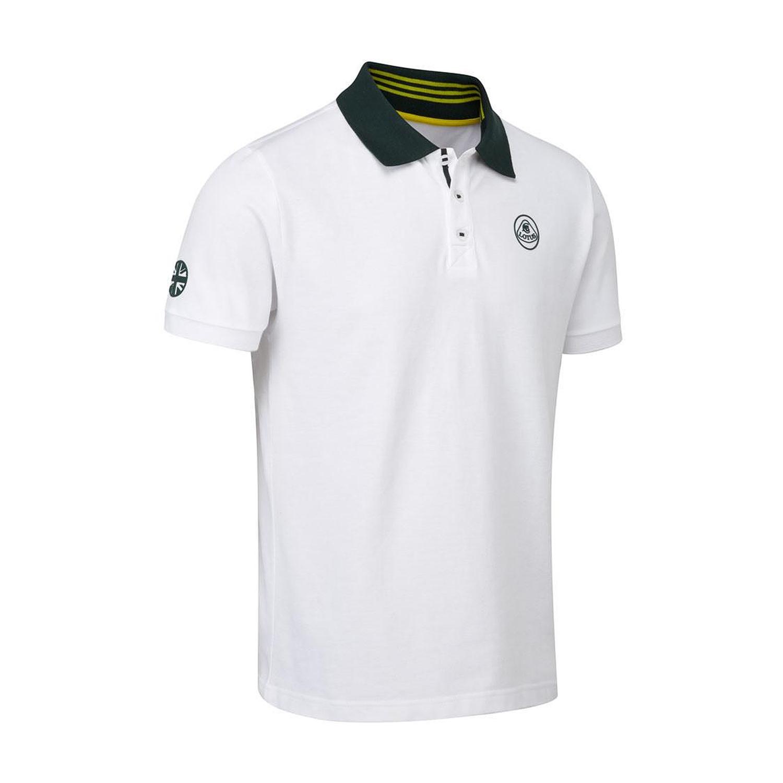 Lotus Cars Men\'s Logo Polo Shirt.