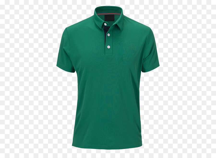 Polo Shirt Green png download.
