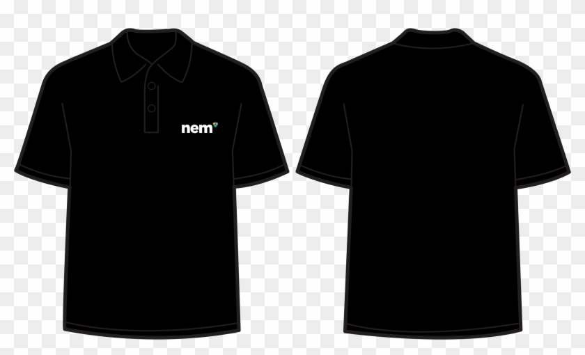 Polo Shirt Black.