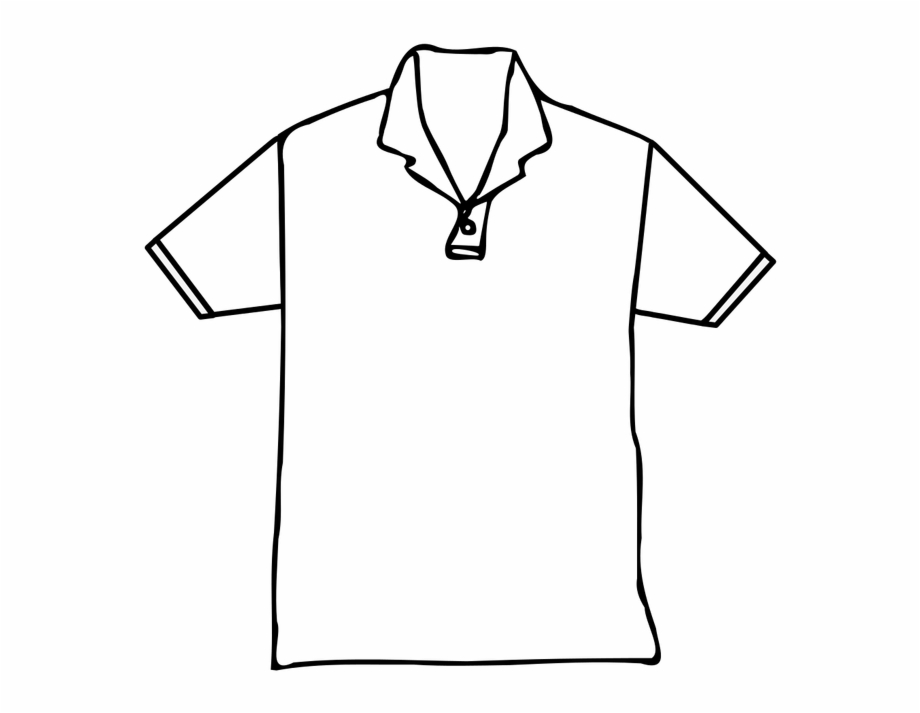 Black Shirt Template Png.