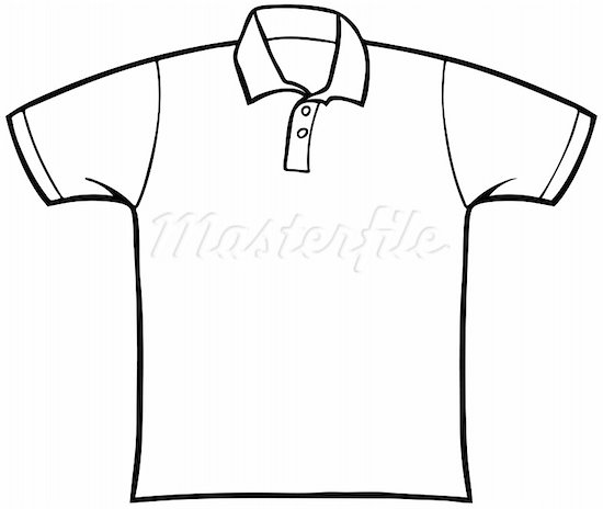 Tshirt Clipart Black And White.