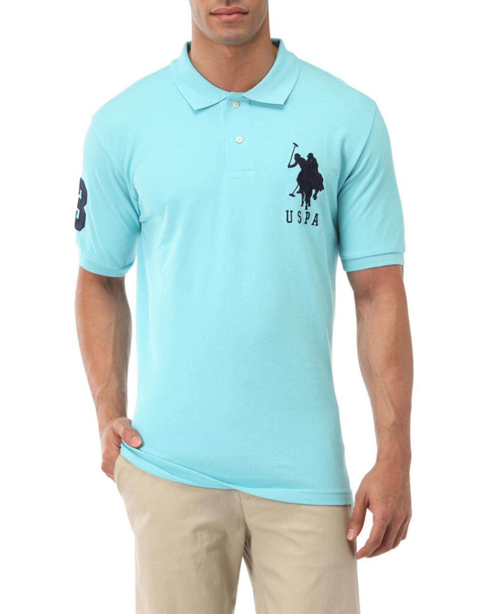 Big Logo Polo Shirt.