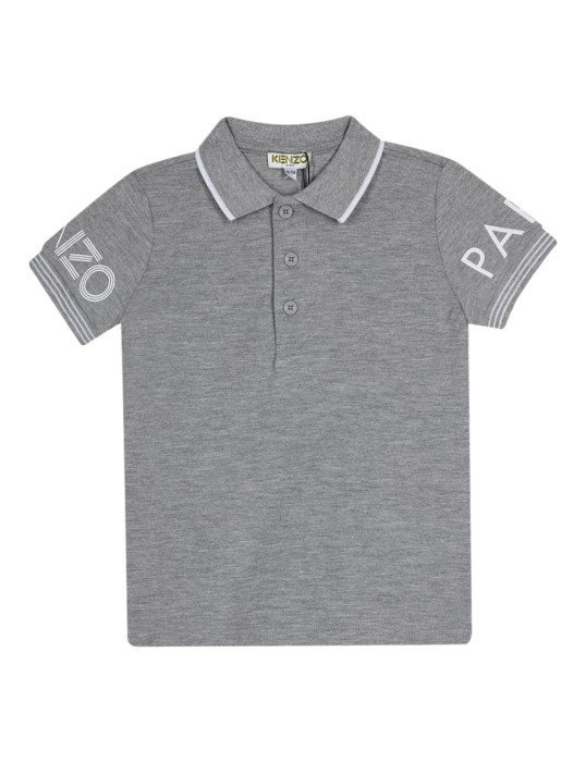 Logo Sleeves Polo Shirt.