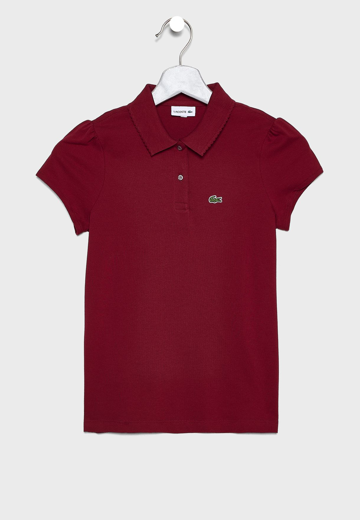 Kids Logo Polo Shirt.