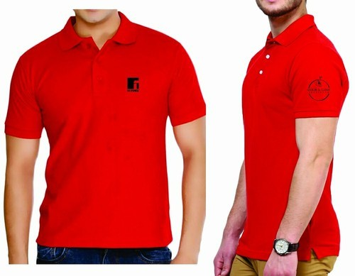 Men\'\'s Polo T Shirt With Logo Embroidery.