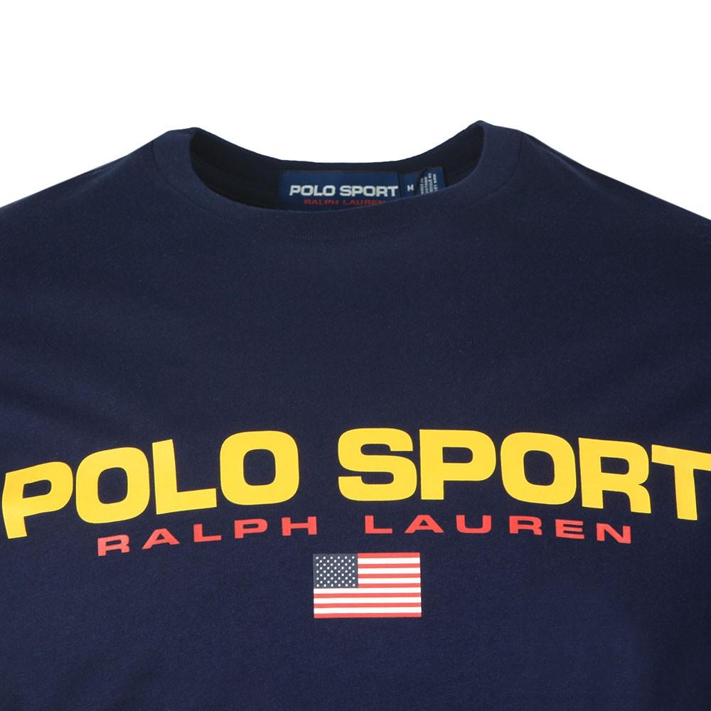 Mens Blue Logo T Shirt.