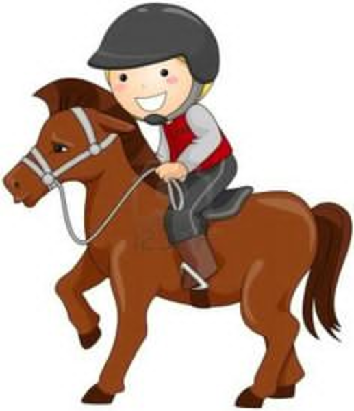Polocrosse Clipart.
