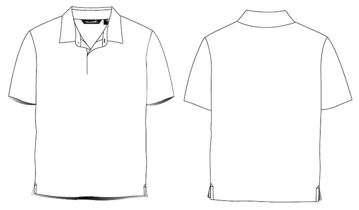 Polo shirt clip art.