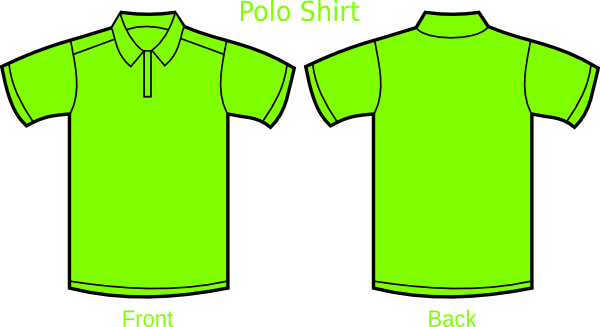 Polo Shirt Clip Art.