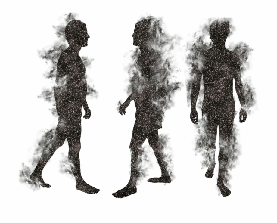 People Silhouette Walking Dead Poltergeist Png.