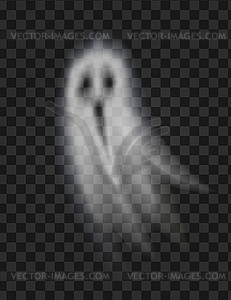 Ghost Poltergeist on Transparent Background.