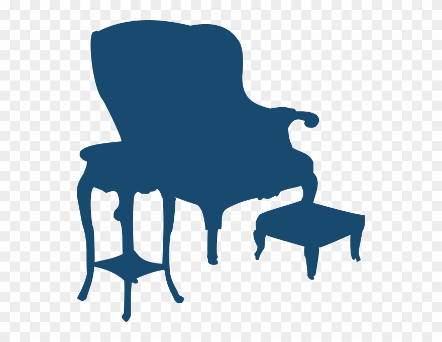 Armchair And Table Clipart Png.