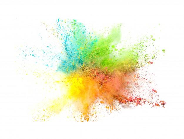 Polvos Colores.
