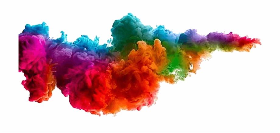 Polvo De Colores Png.