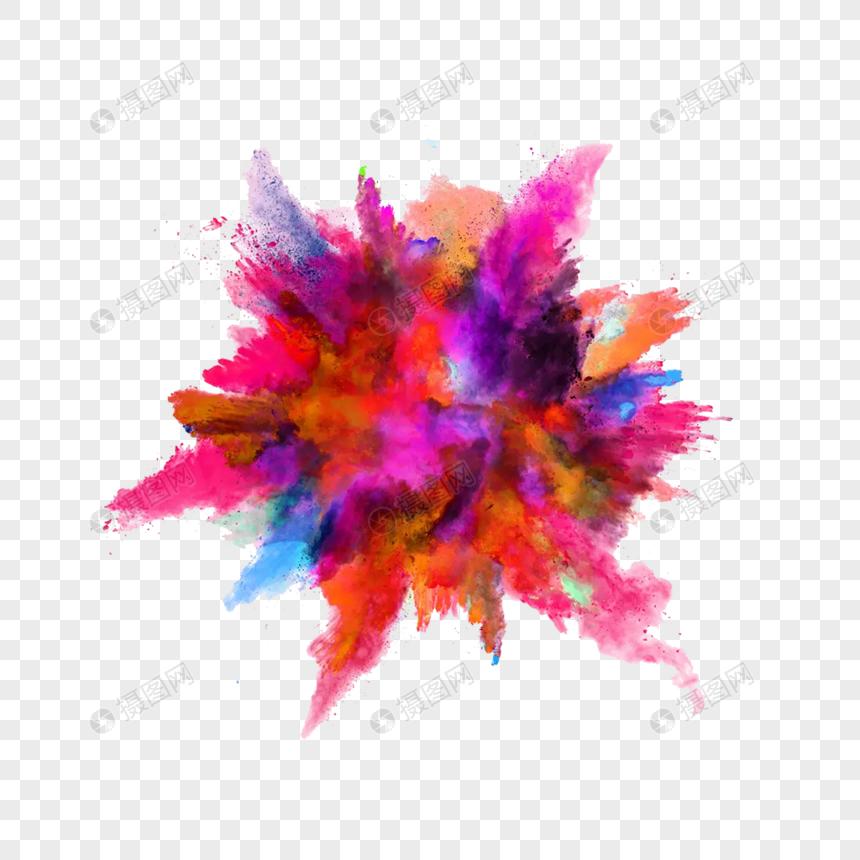 polvo de color explosivo Imagen Descargar_PRF Gráficos.