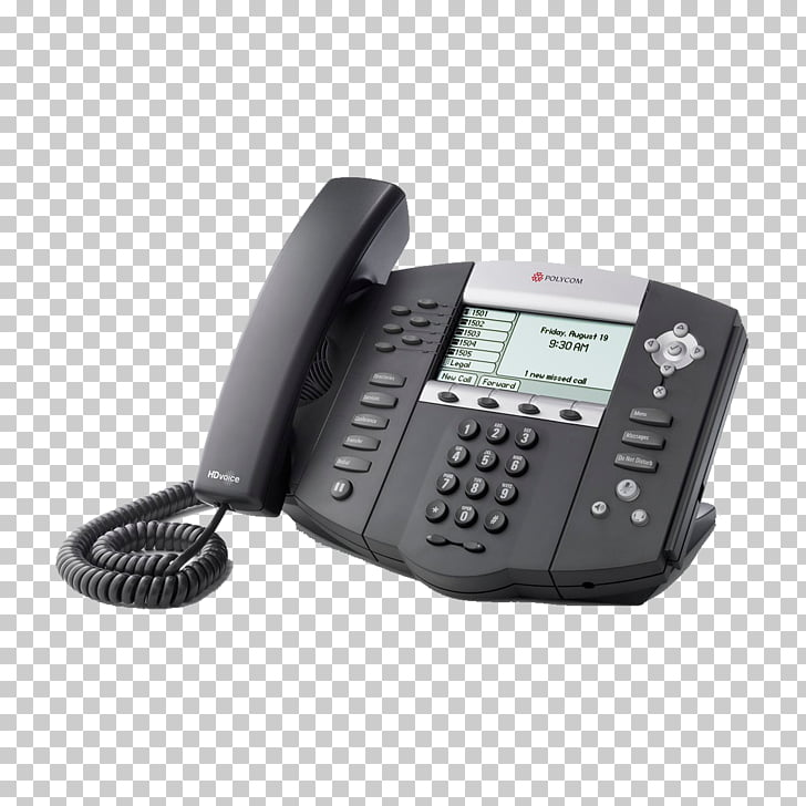 Polycom SoundPoint 650 VoIP phone Session Initiation.