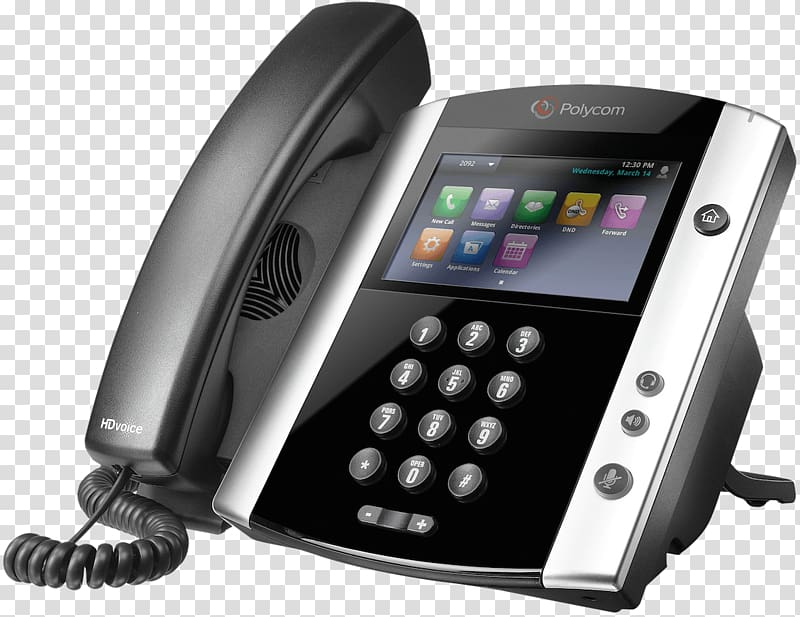 Polycom VoIP phone Telephone Skype for Business Voice over.