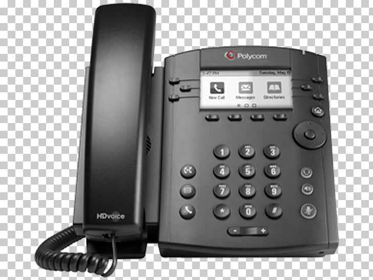 Polycom VVX 311 VoIP phone Telephone Business, host power.