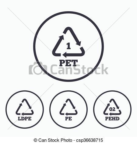 Vector Clip Art of PET, Ld.