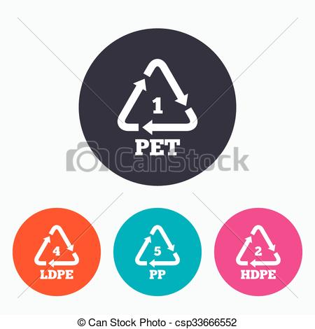 Clipart Vector of PET, Ld.