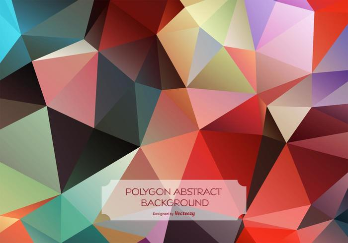Colorful Abstract Polygon Background.