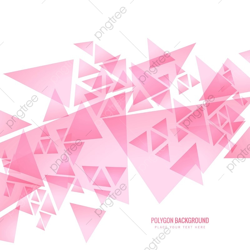 Modern Pink Polygonal Background, Abstract, Background.