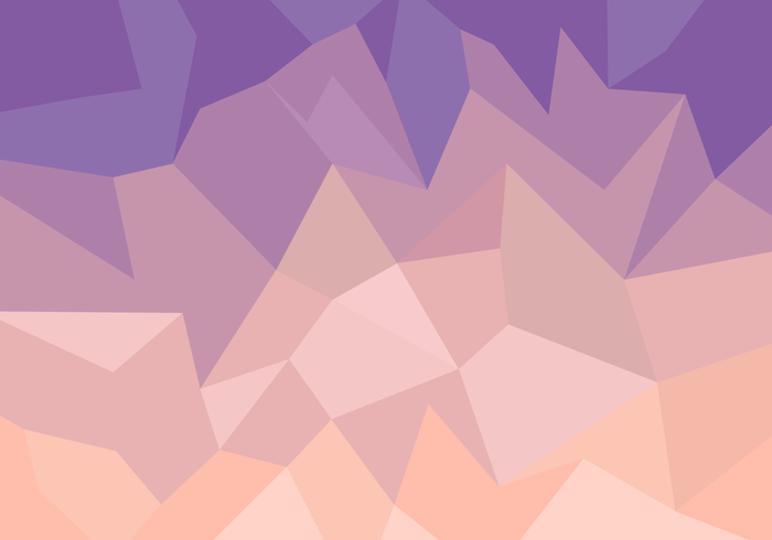 Polygon Background Free Vector Art.