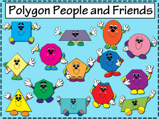 Polygon Clipart.