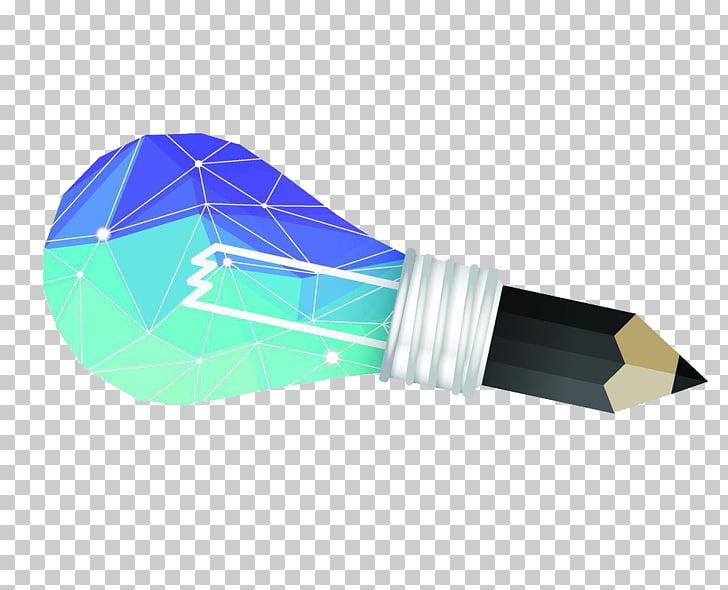 Polygon Euclidean , Bulb creative design PNG clipart.