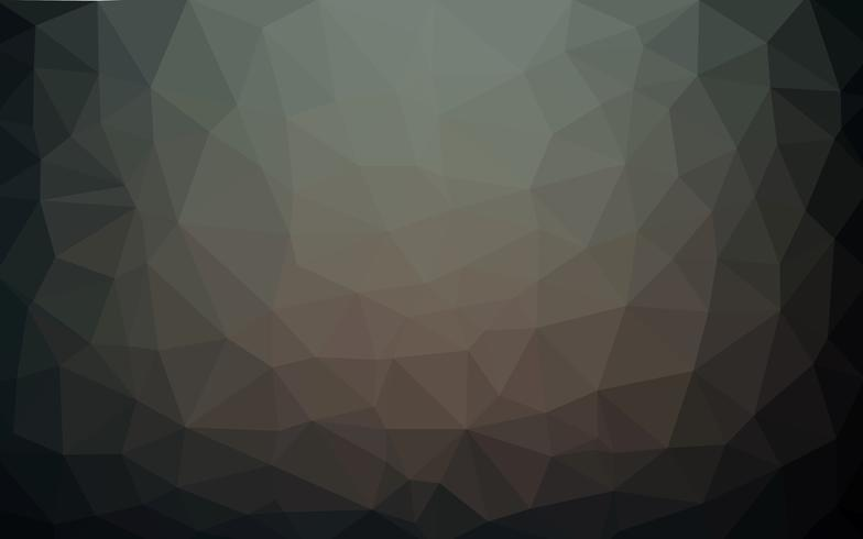 Light dark vector Low poly crystal background. Polygon.