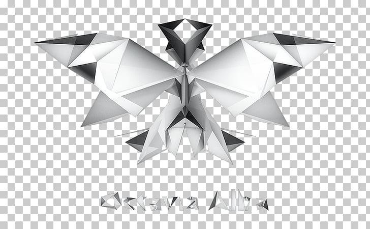 新唯美設計 Low poly Polygon Design Triangle, low poly alien.