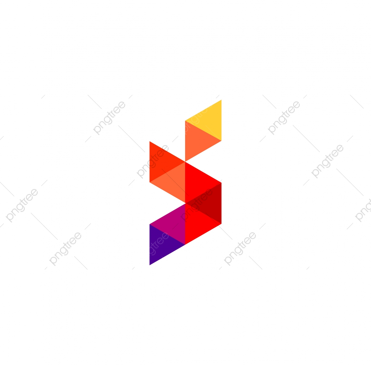 Polygon Letter S Icon Vector Logo, Symbol, Logo, Icon PNG.