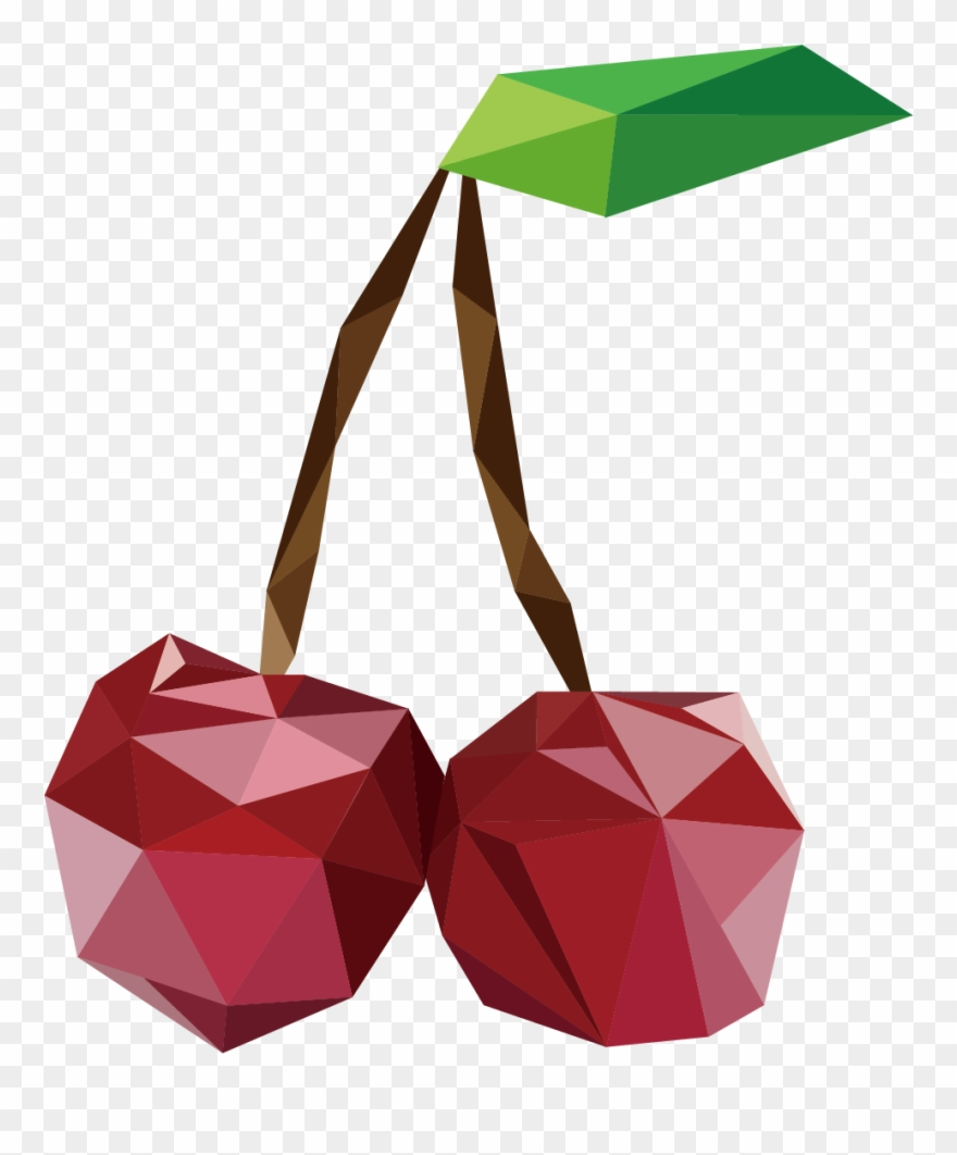 Apples Vector Polygon Png Free Download.