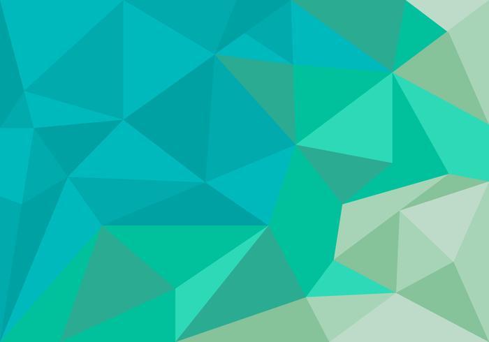 Unique Polygon Background Vector.