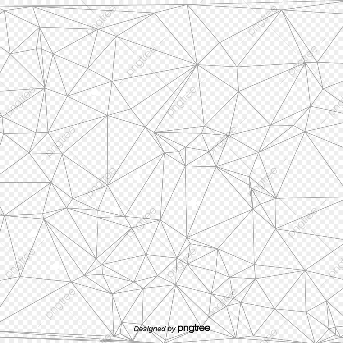 Vector Polygon Perspective Grid Irregular Grid, Polygon.