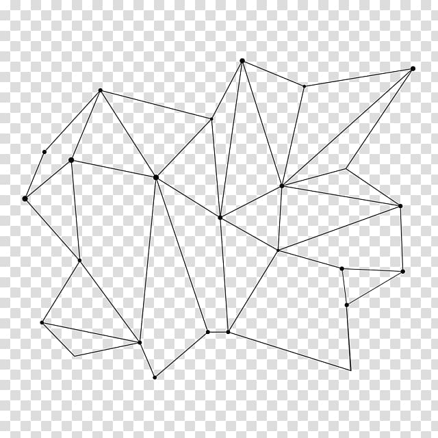 Triangle Paper Point, geometric polygonal transparent.