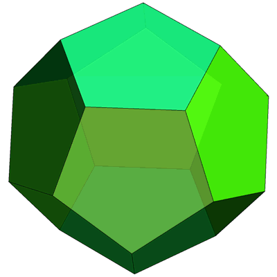 Polygons and Polyhedra.