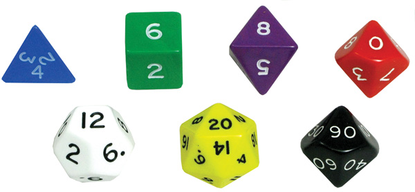 Dice Sets : Joe Dodgy's Dice and Games, Dice.