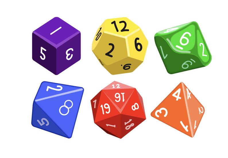 D20 clipart rpg dice, D20 rpg dice Transparent FREE for.